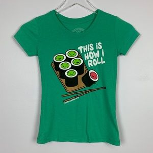 David & Goliath This Is How I Roll Tee sz M Girls